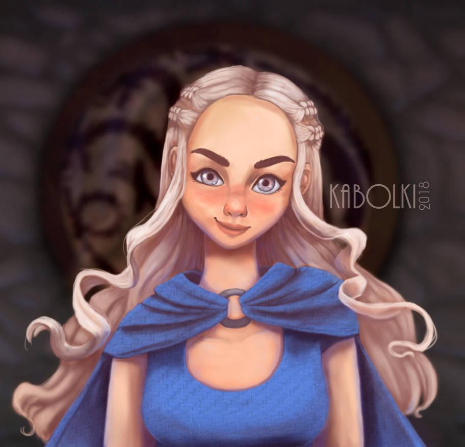 .:Fan Art:. Daenerys Stormborn