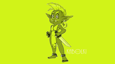 .Hue challenge.  #2 Cheese the goblin