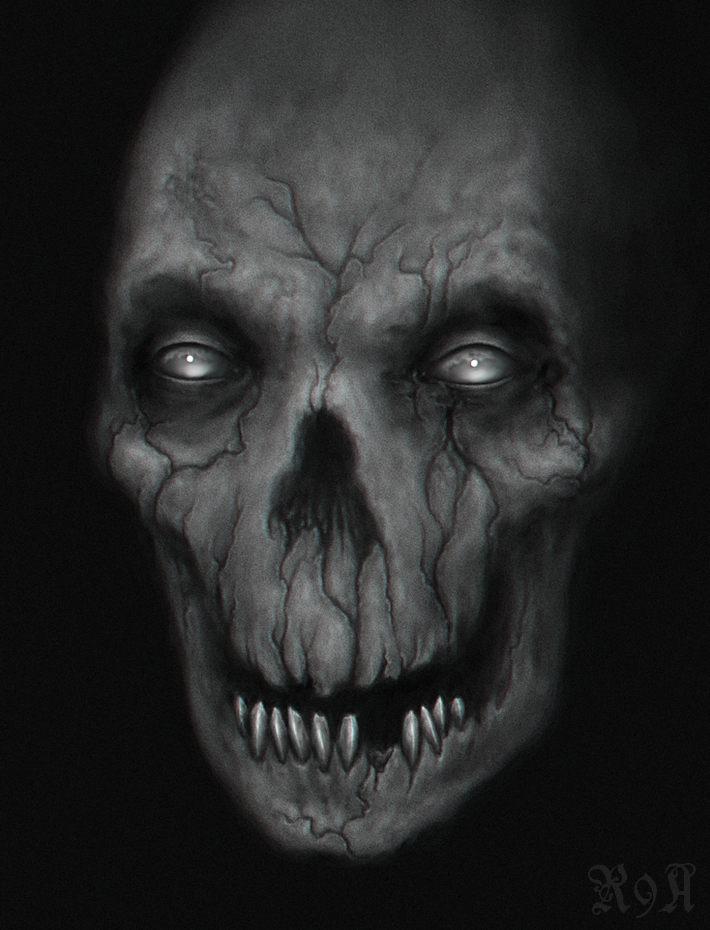 bone vs teeth by R9A