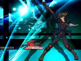 10th Anime Wallpaper - Yusei by Fivian