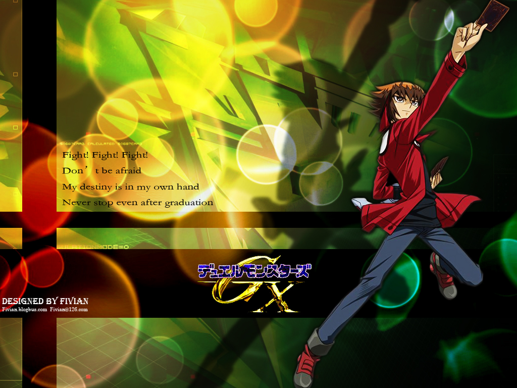 10th Anime Wallpaper - Judai by Fivian on DeviantArt