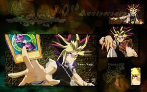 10th Anime Yami Yugi's turn by Fivian