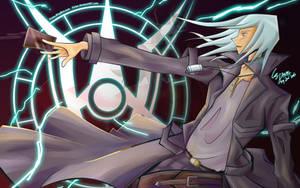 Kiryu and Infernity Gunman by Fivian