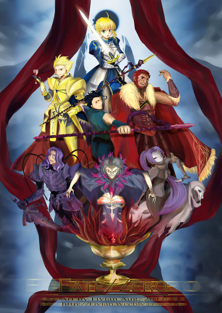 The heroes of Fate Zero