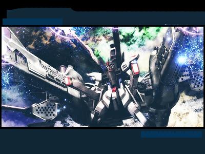 Meteor Unit Freedom Gundam Tag by DragonSlayer23