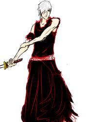 random shinigami doodle