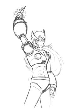 Zero sketch (somewhat old)