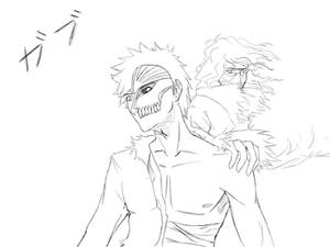 Ichigo and Zangetsu  - An eternal bond