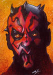 Darth Maul Sketch Card