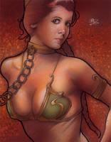 Slave Leia by Ethrendil