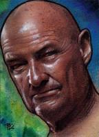 John Locke Sketch Card by Ethrendil