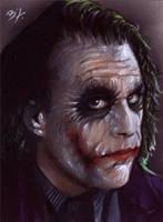 Joker Sketch Card 13 by Ethrendil