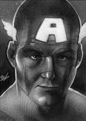 Captain A black and white PSC by Ethrendil