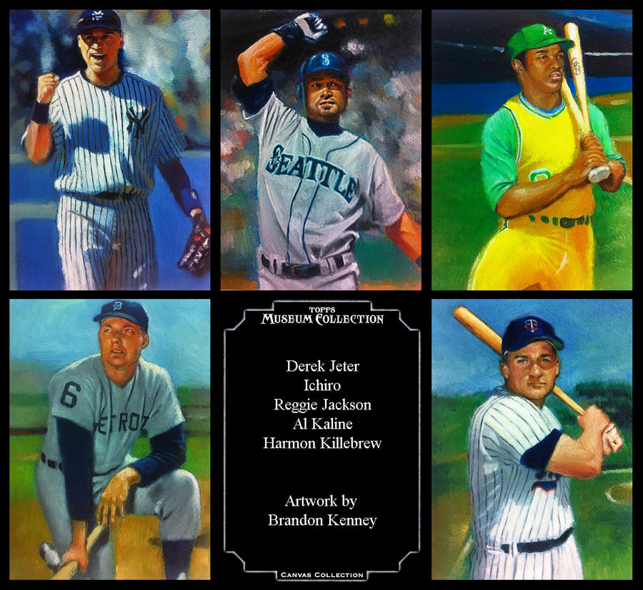 2012 Topps Canvas Collection by Ethrendil