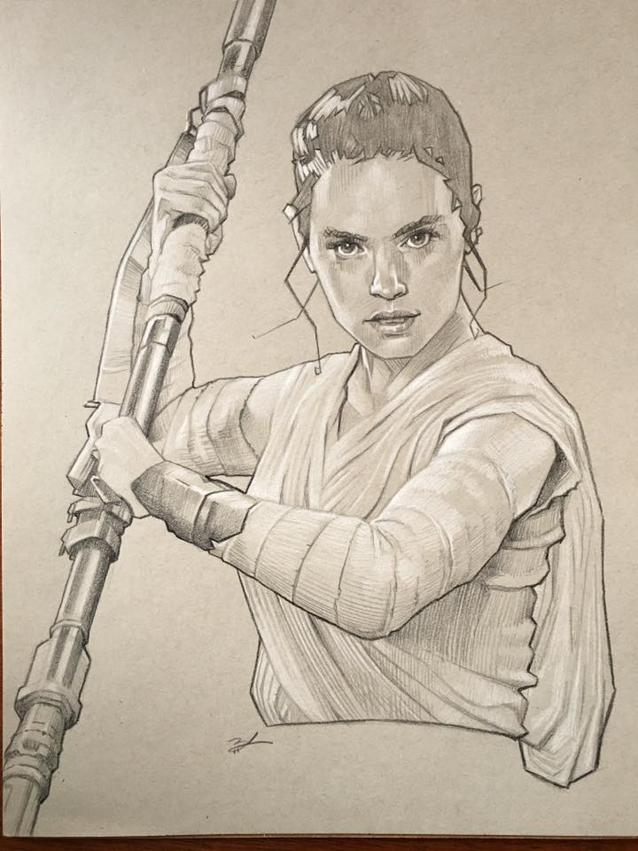 Rey 11x14 by Ethrendil