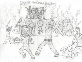 SMash the control machine by Hempbot