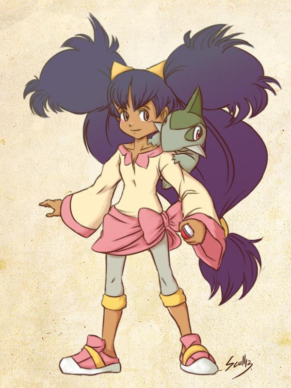 Pokemon Gym Leader, Iris by MARKCW