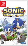 Sonic Generations Nintendo Switch Boxart (Old)