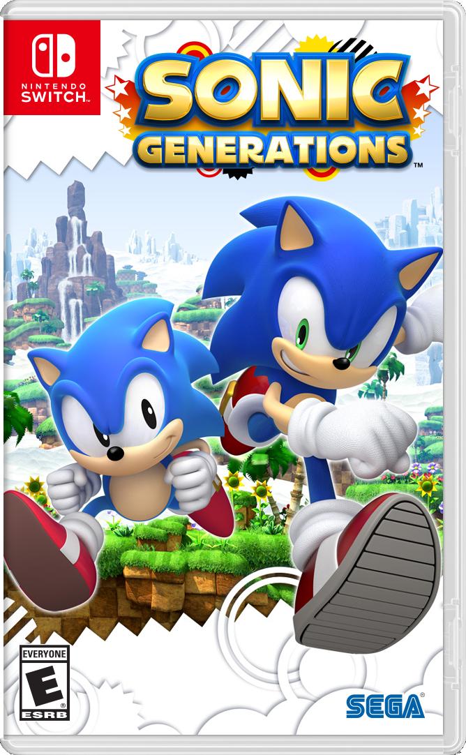Sonic Generations Nintendo Switch Boxart By Goldmetalsonic On Deviantart