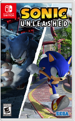 Sonic Unleashed Nintendo Switch Boxart by GoldMetalSonic