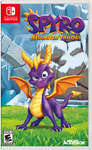 Spyro Reignited Trilogy Nintendo Switch Boxart