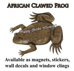 African Clawed Frog by beachgecko