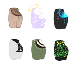 {Closed} Mystery Butty Adoptables by El-Tomodachi