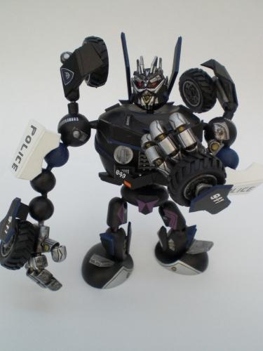 Transformers Barricade 3 by JWBeyond