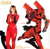 Asuka Eva Unit 02 by JWBeyond