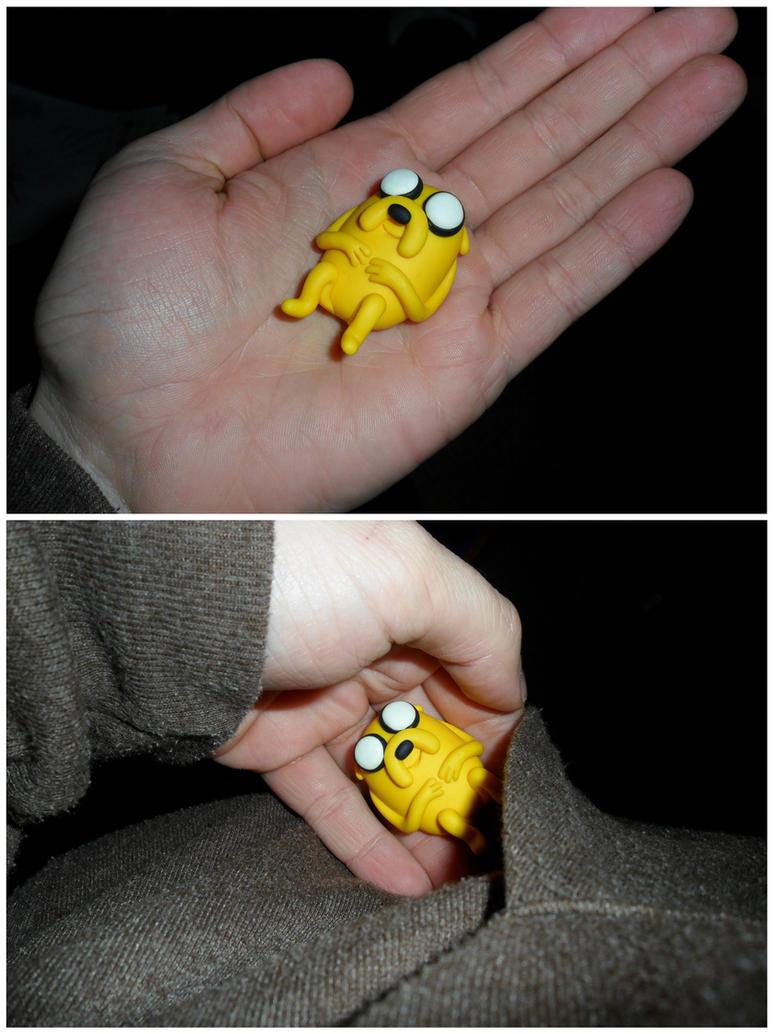 Adventure Time Pocket Jake by JWBeyond