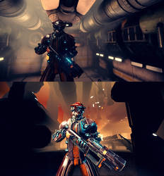 Warframe DeadSpace by JWBeyond
