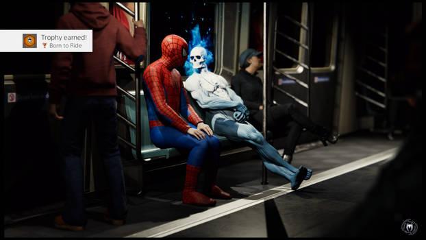 Marvel's Spider-Man Trophy