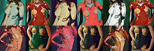 Evangelion Girls Prisma BodyPaints