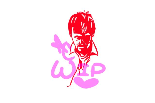 WIP Joel Heyman Silhouette by FullMetalWinry101