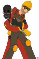 Pyro Hug! by ZeldaVoorhees
