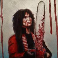 Chainsaw Charlie by JessicaKa