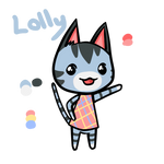 Animal crossing Lolly