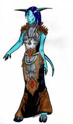 Draenei_trying outfit_wow