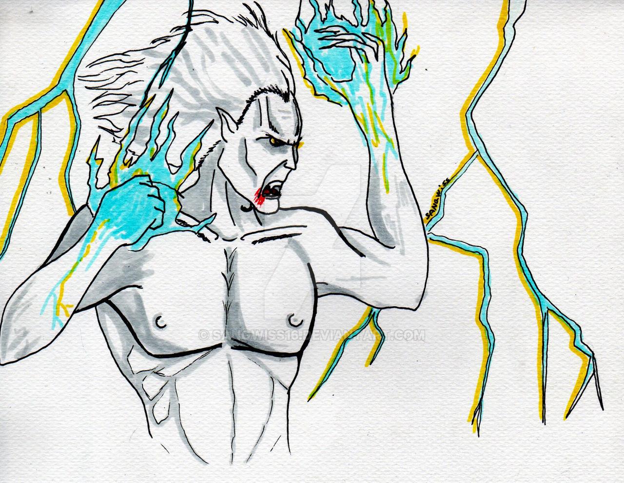Kain__Lightning Spell__