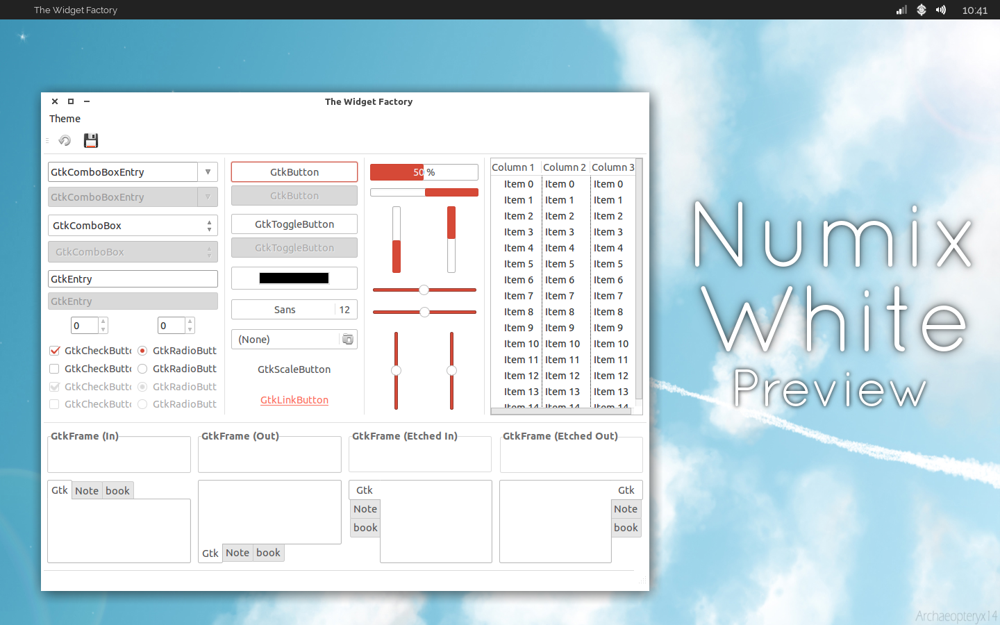 Numix White Preview by TheVirtualDragon
