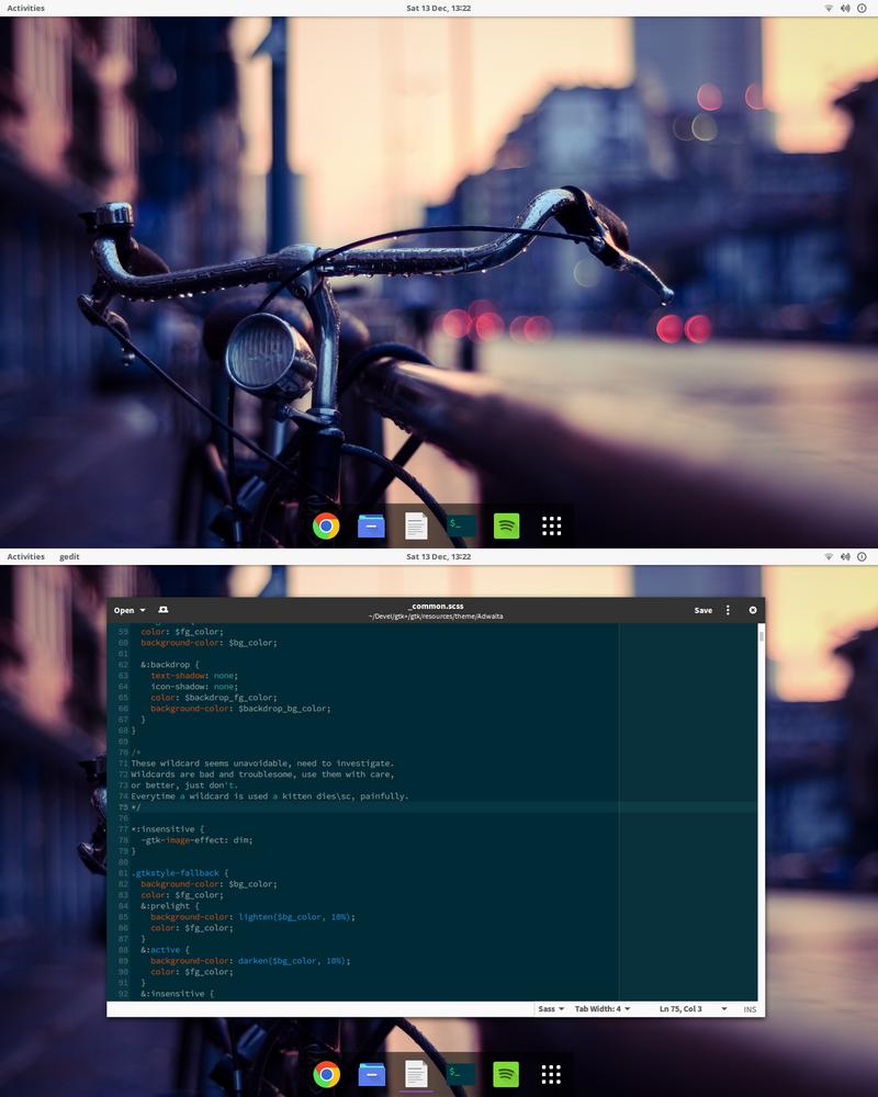 December Desktop by TheVirtualDragon