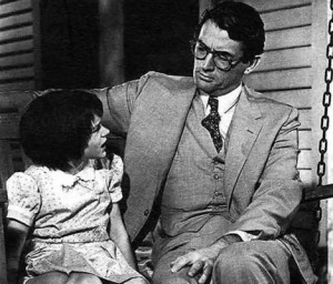 character traits of atticus finch in harper lees to kill a mockingbird Presented as lee's central character in her first and only novel, to kill a mockingbird, atticus finch shows his qualities both as father and as lawyer and through.