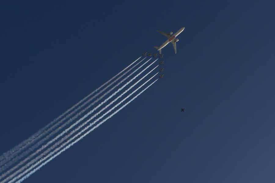 Dubai Air Show by troubleacm