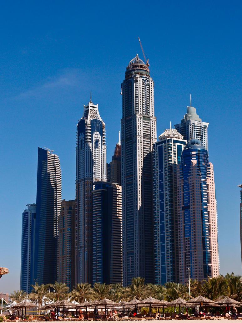 Dubai Marina Towers 2 by troubleacm