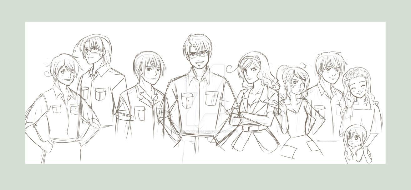 APH line up_sketch by randomsketchez