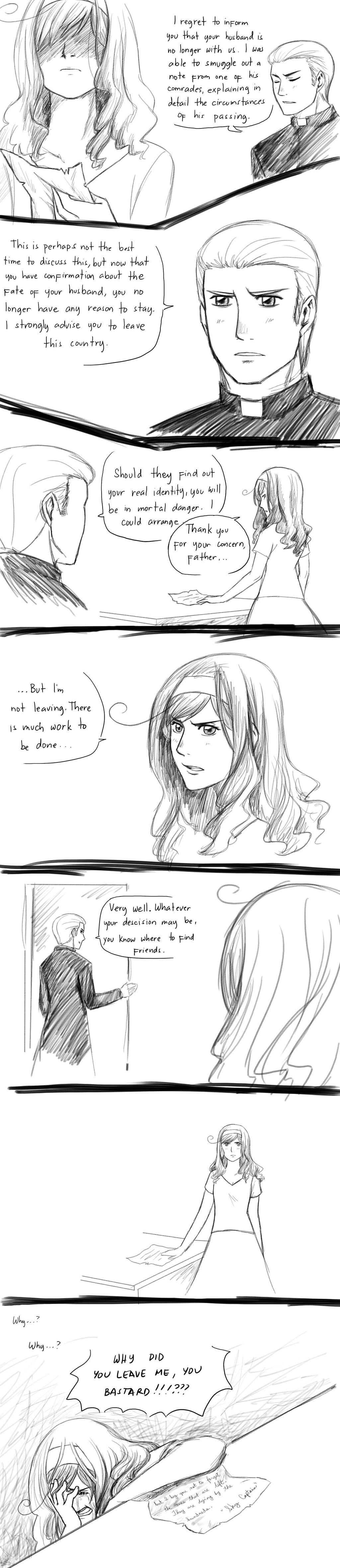 APH line up Random Comics - Trapped by randomsketchez