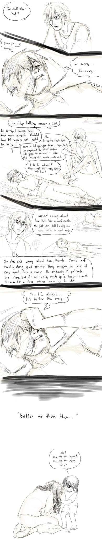 APH line up Random Comics - Betrayal by randomsketchez