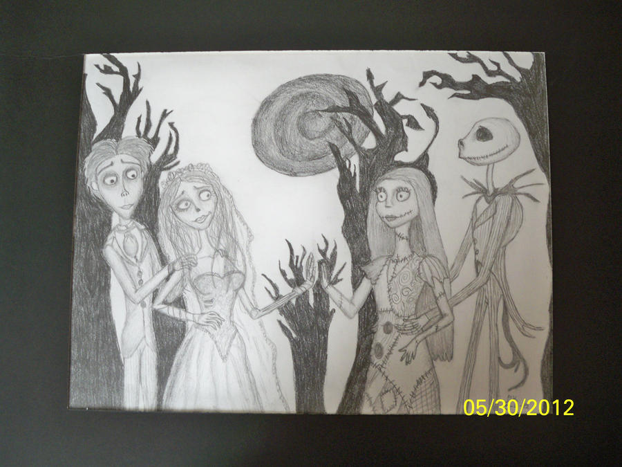 the corpse bride meets nightmare before christmas by ...