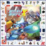 Megaman Monopoly X Board