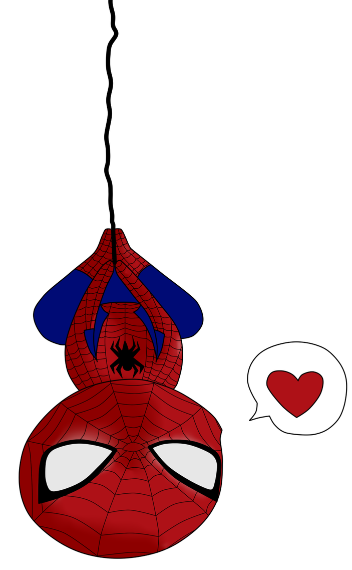 how to draw a cute cartoon spiderman